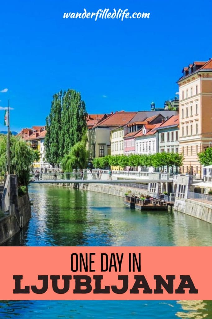 Slovenia's capital has the culture of a large European capital, with the charm of a small mountain town. Find out how we spent one day in Ljubljana here.