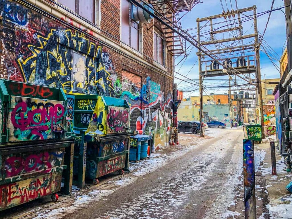 Art Alley in Rapid City