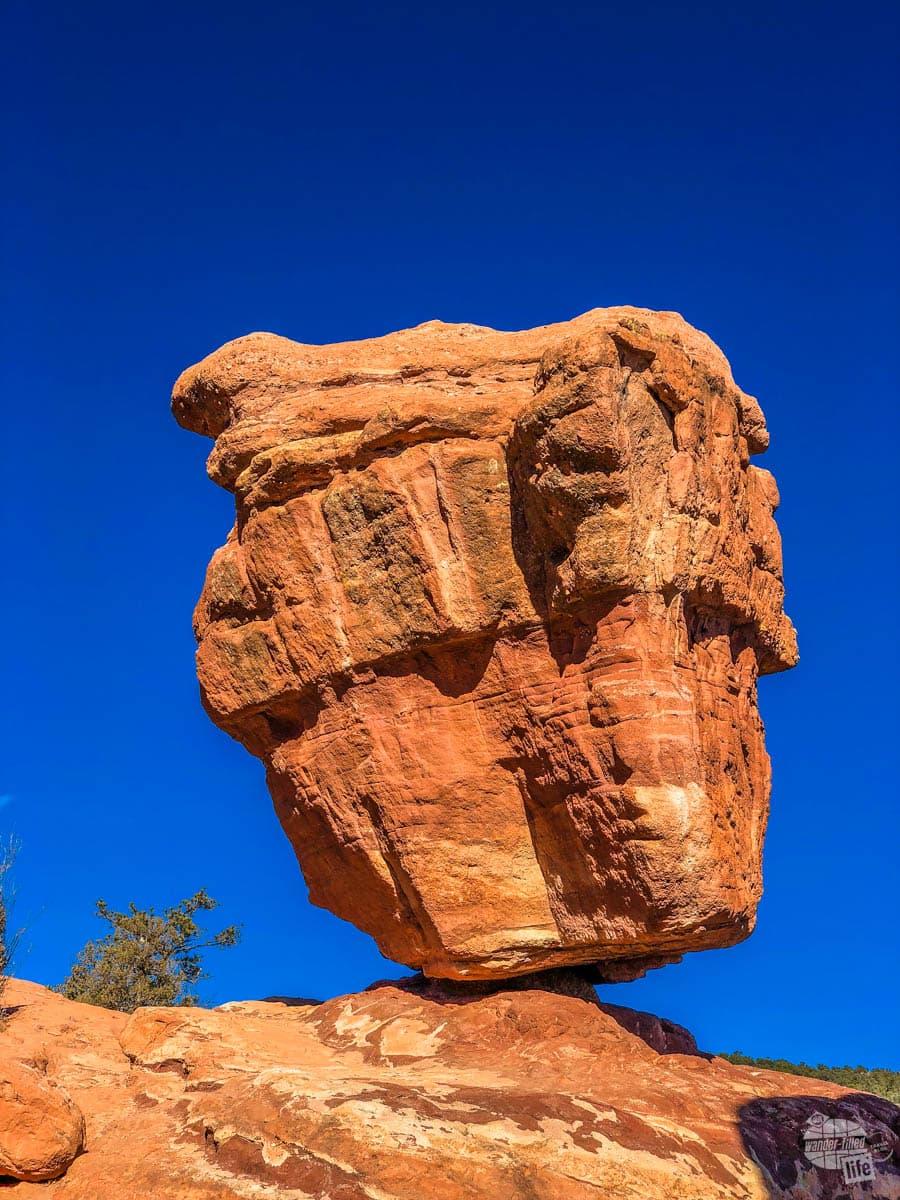 Balanced Rock at Garden of the Gods