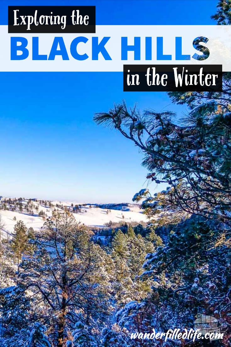 Visiting the Black Hills in the winter is a great way to experience the splendor without the crowds, not to mention the snowy wonderland!
