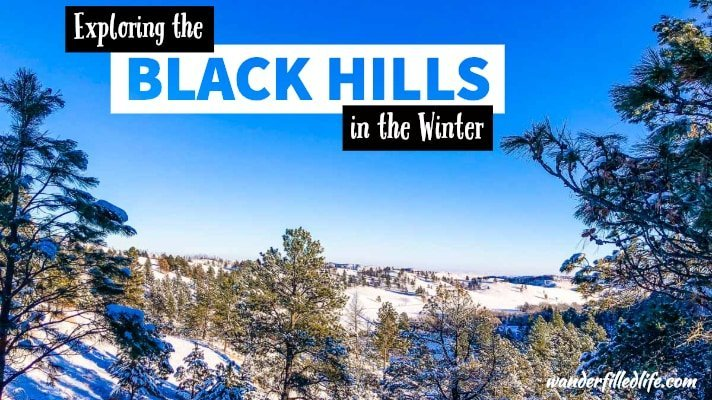 Exploring the Black Hills in the Winter