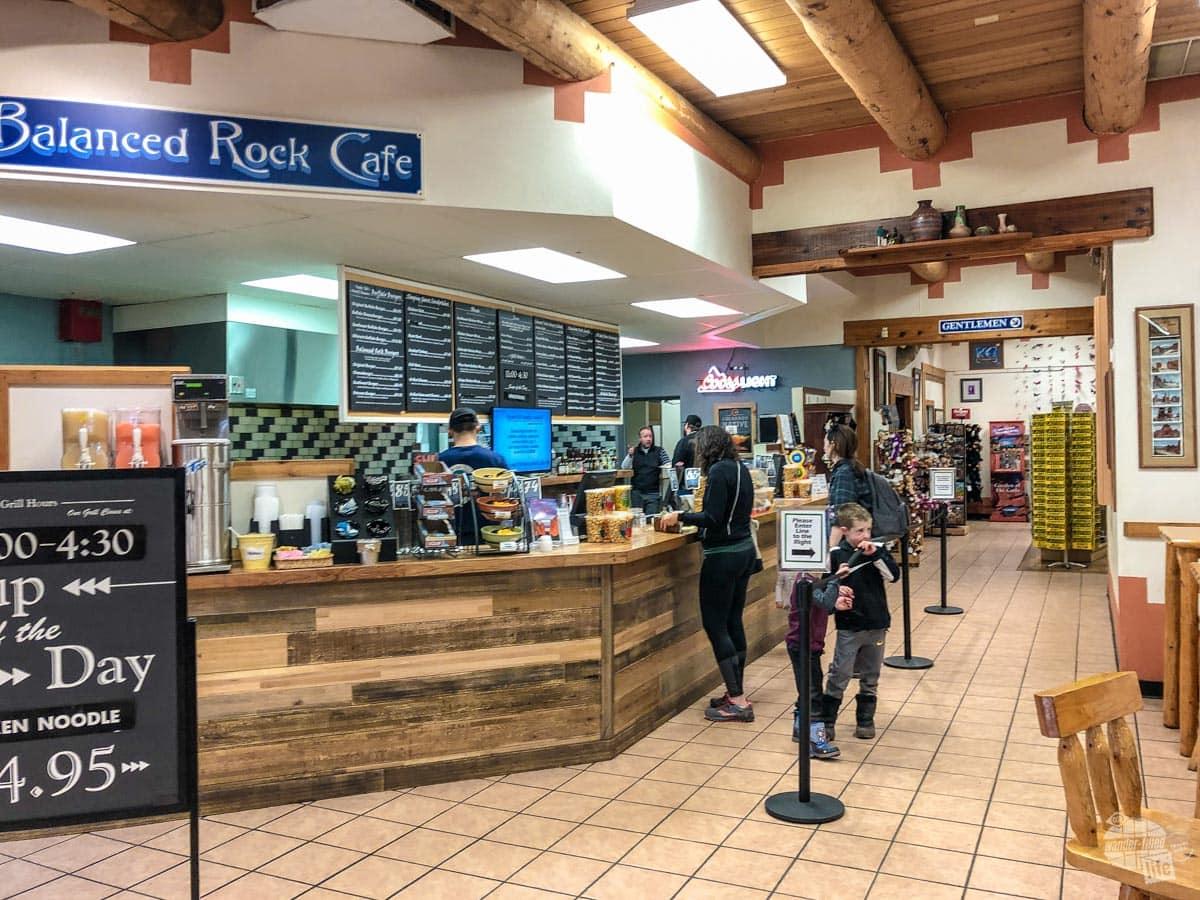 Balanced Rock Cafe at Garden of the Gods