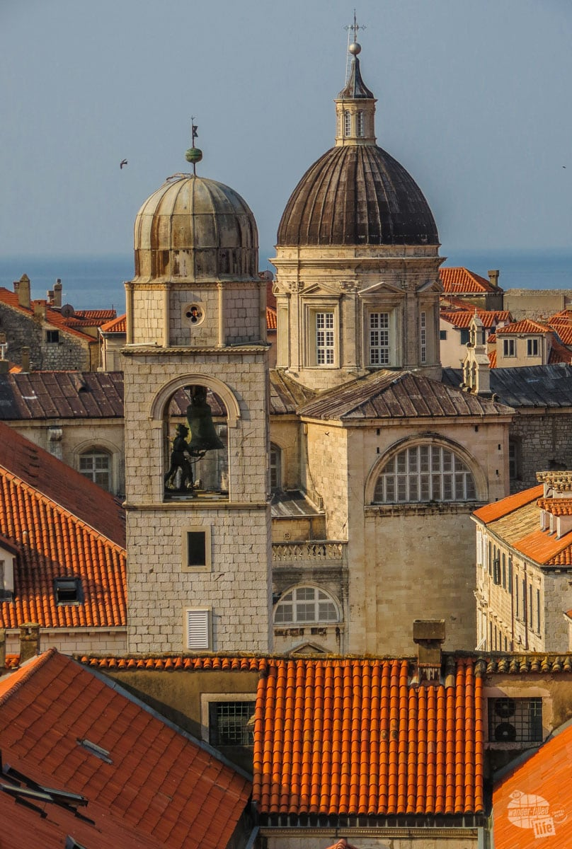 Walking the city walls of Dubrovnik