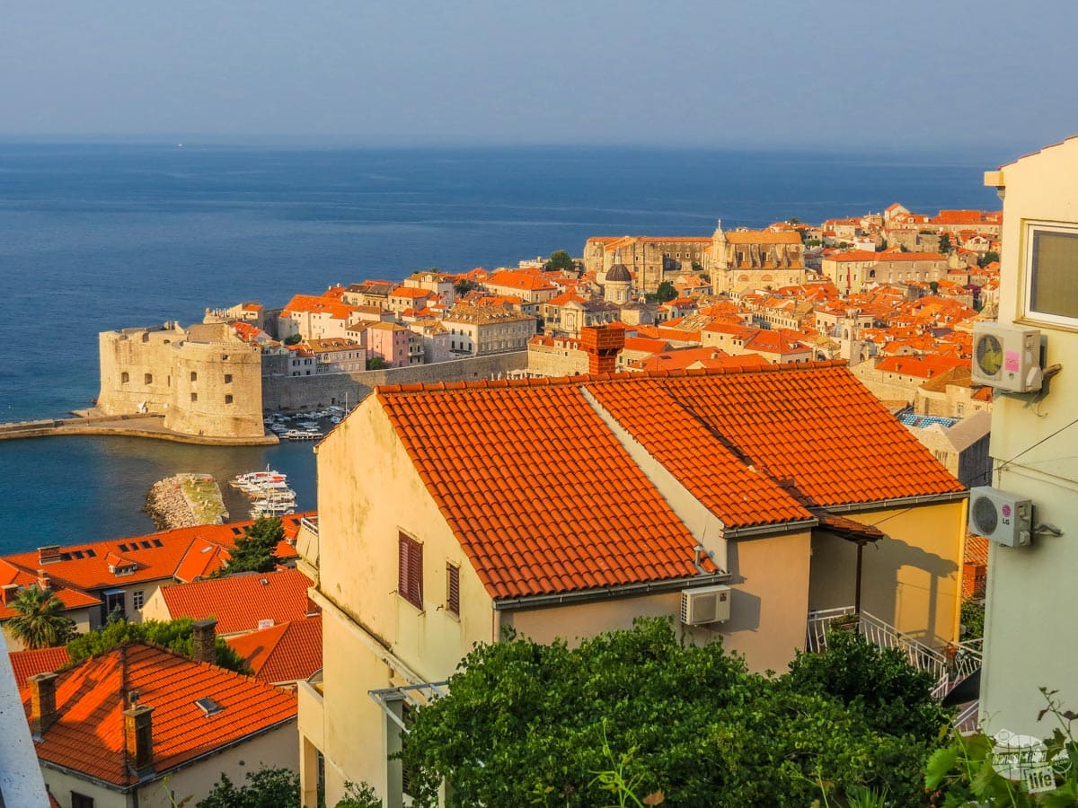 Dubrovnik in the morning