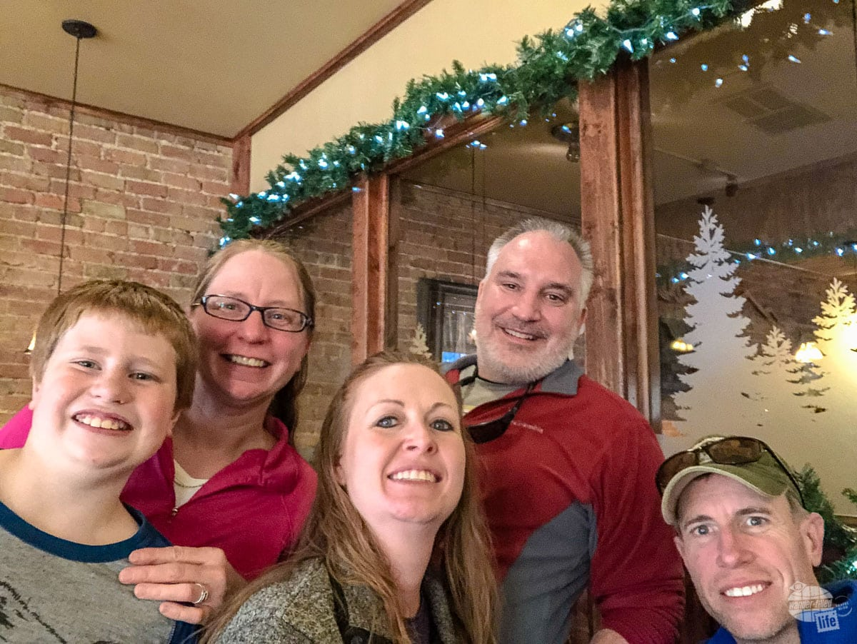 We got to meet up with our friends, Nature Tech Family, in Custer.
