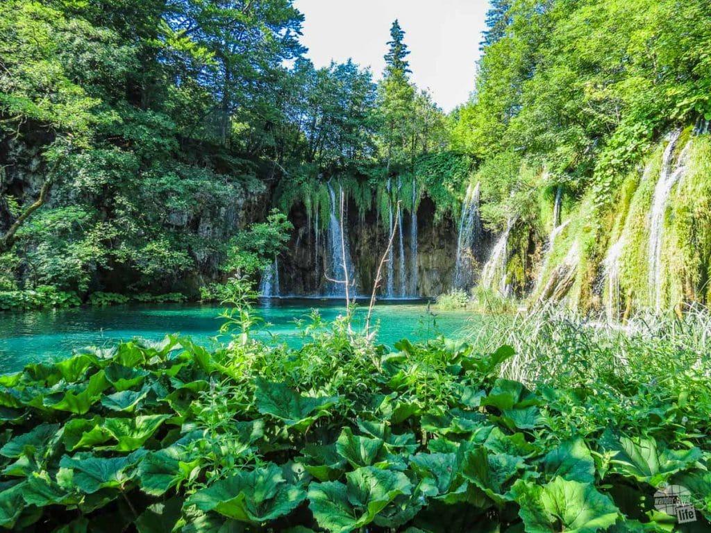 Plitvice National Park cascades