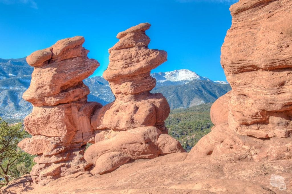Pikes Peak and the Siamese Twins