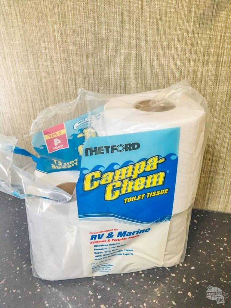 RV Toilet Tissue