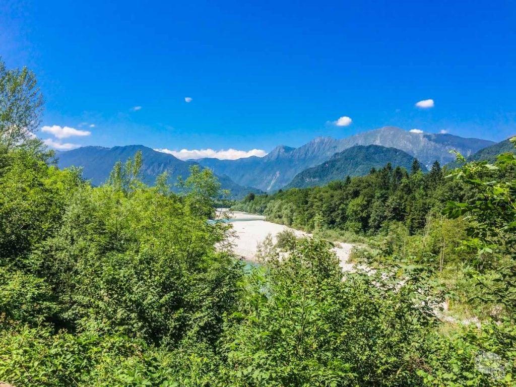 Soča River Valley on a Slovenia Road Trip