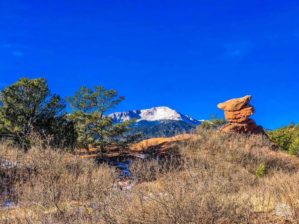The Scotsman and Pikes Peak