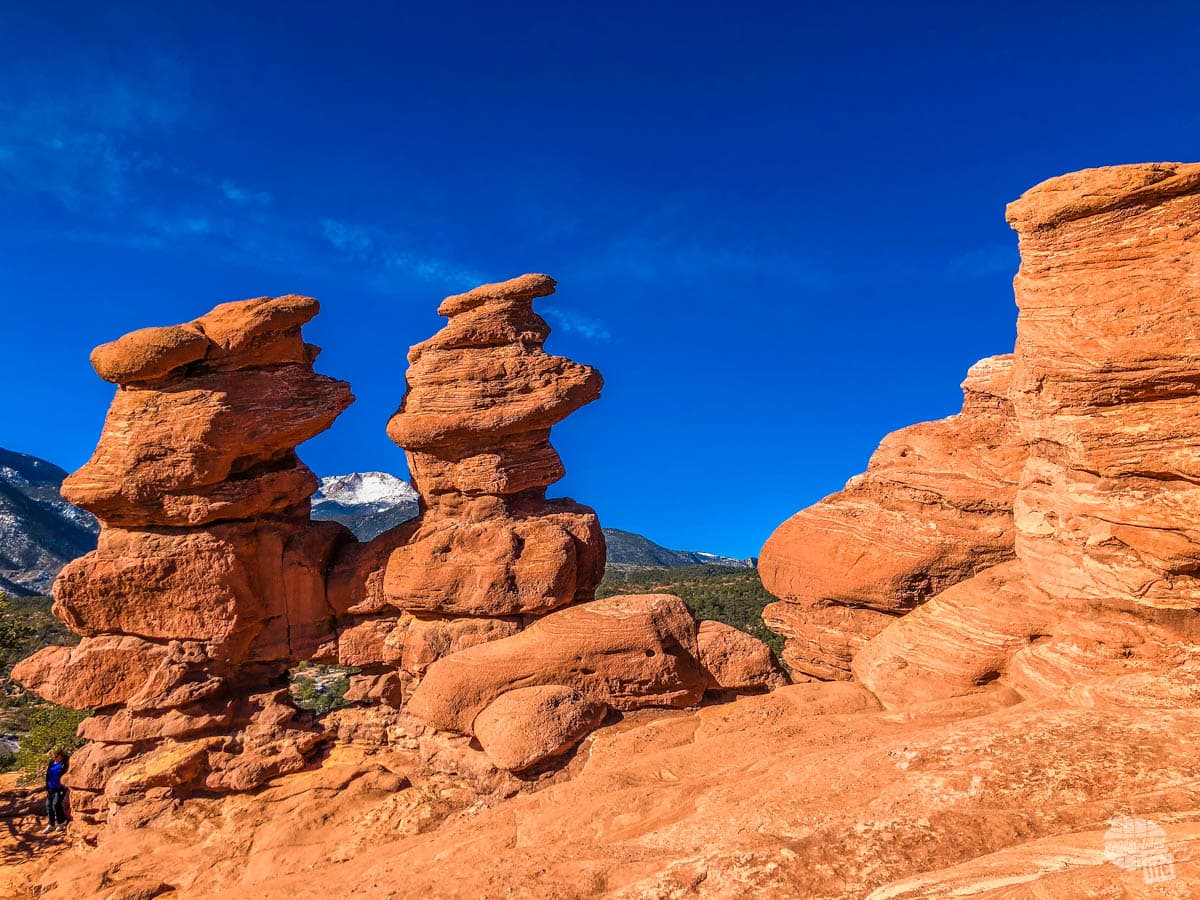 The Siamese Twins at Garden of the Gods