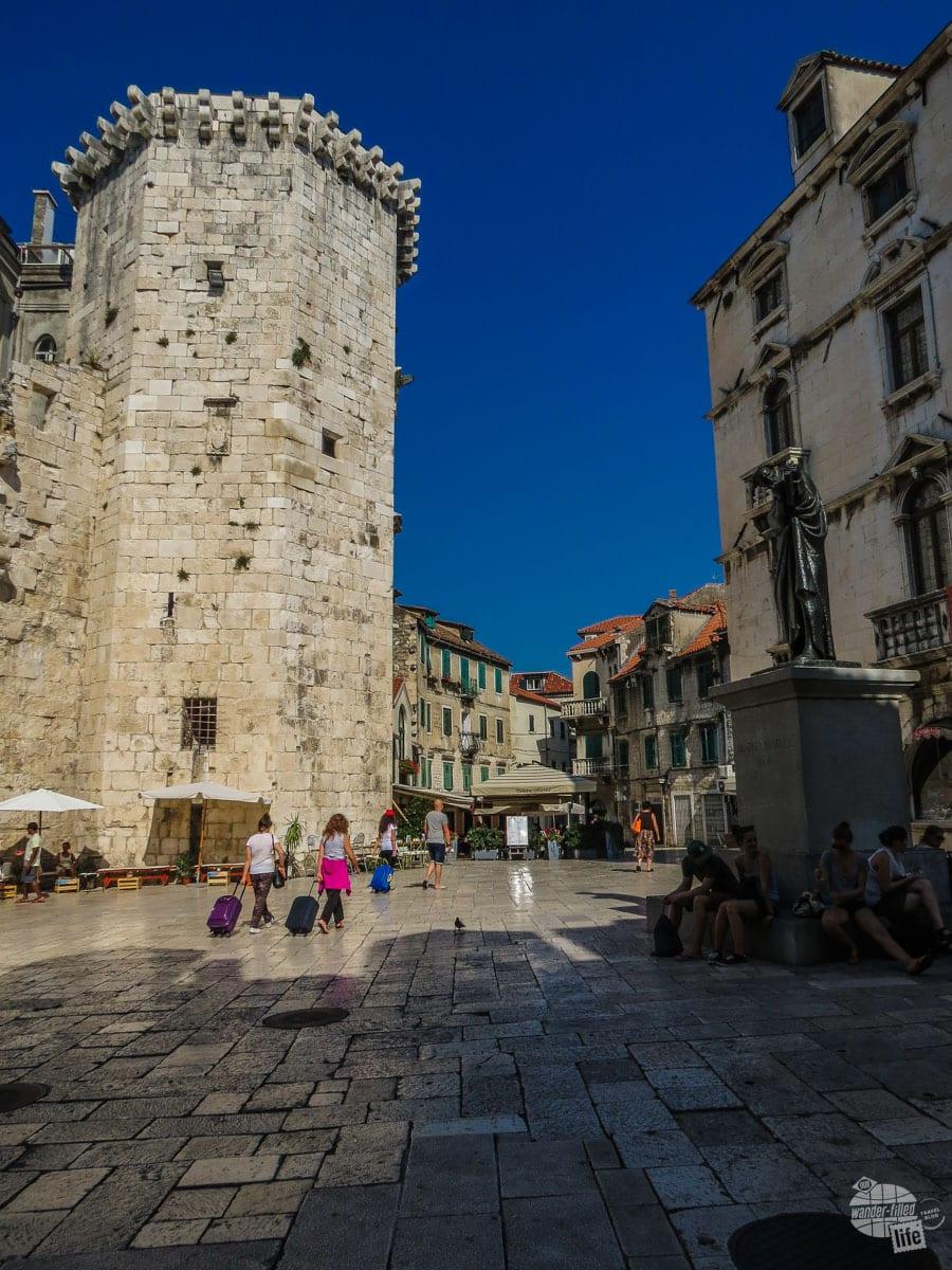 Walking the streets of Split