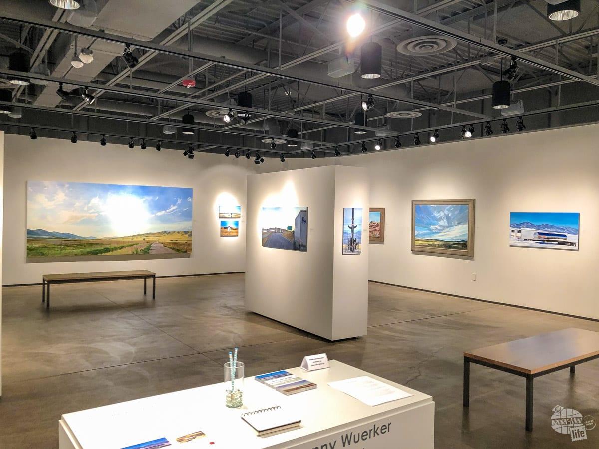 Exhibit at Dahl Arts Center in Rapid City, SD