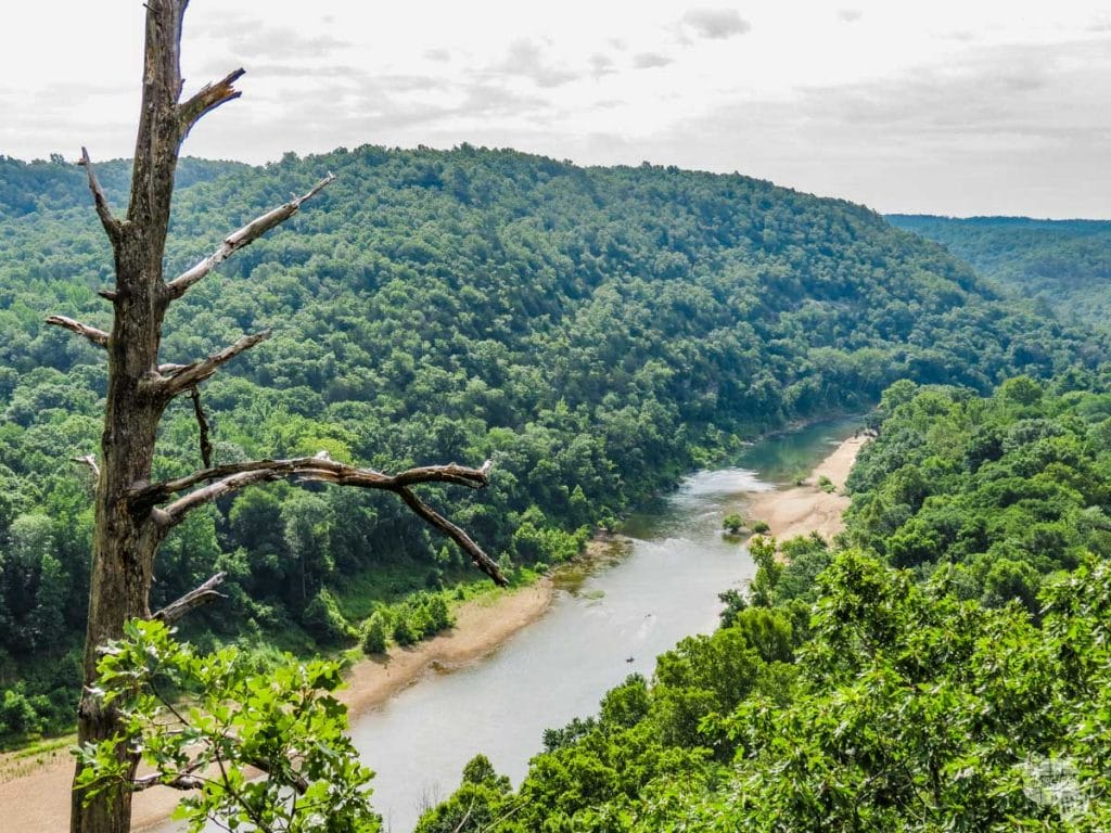 Buffalo National River, one of the Northern Arkansas National Parks
