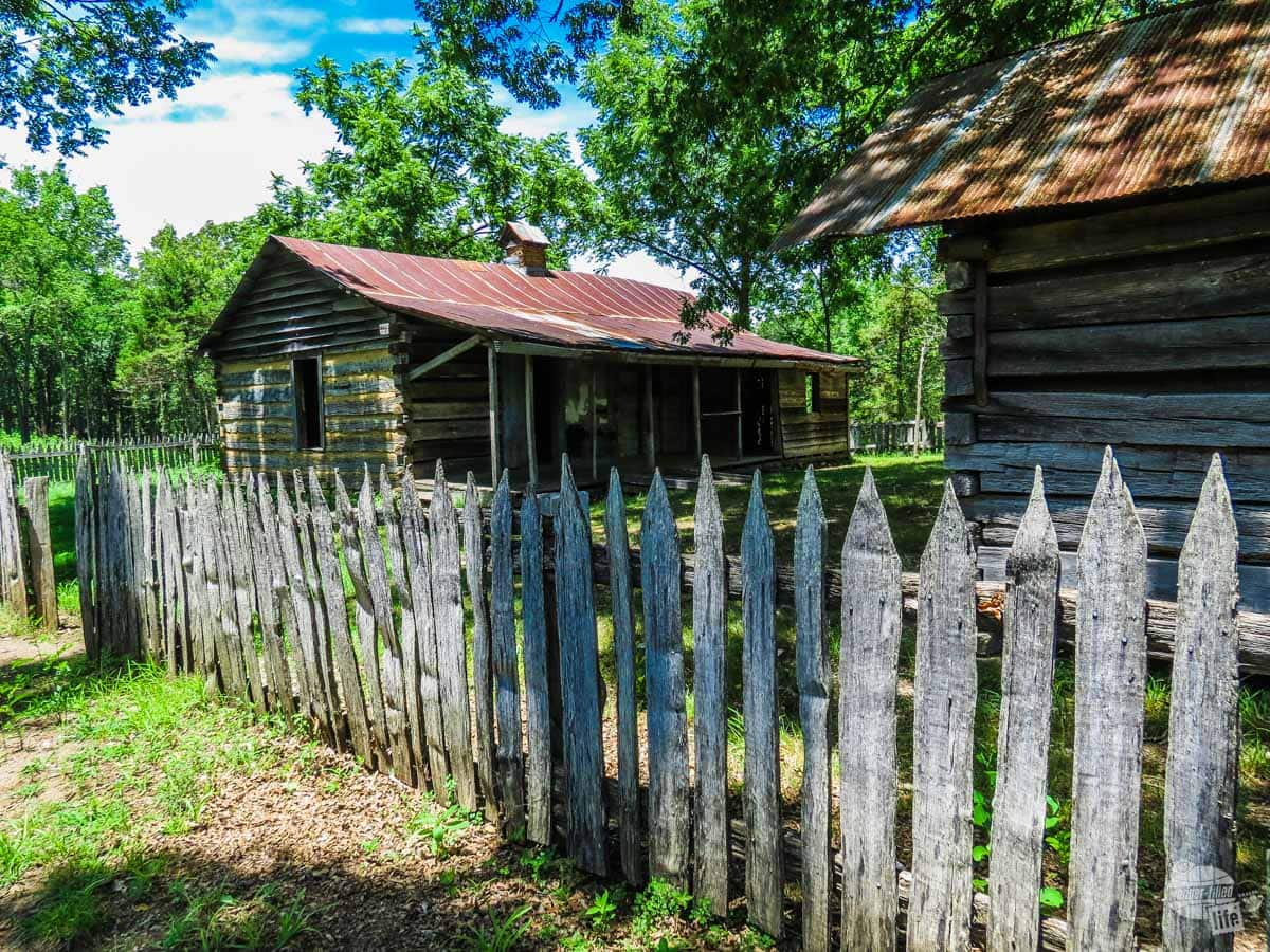 The Collier Homestead in the Buffalo National River