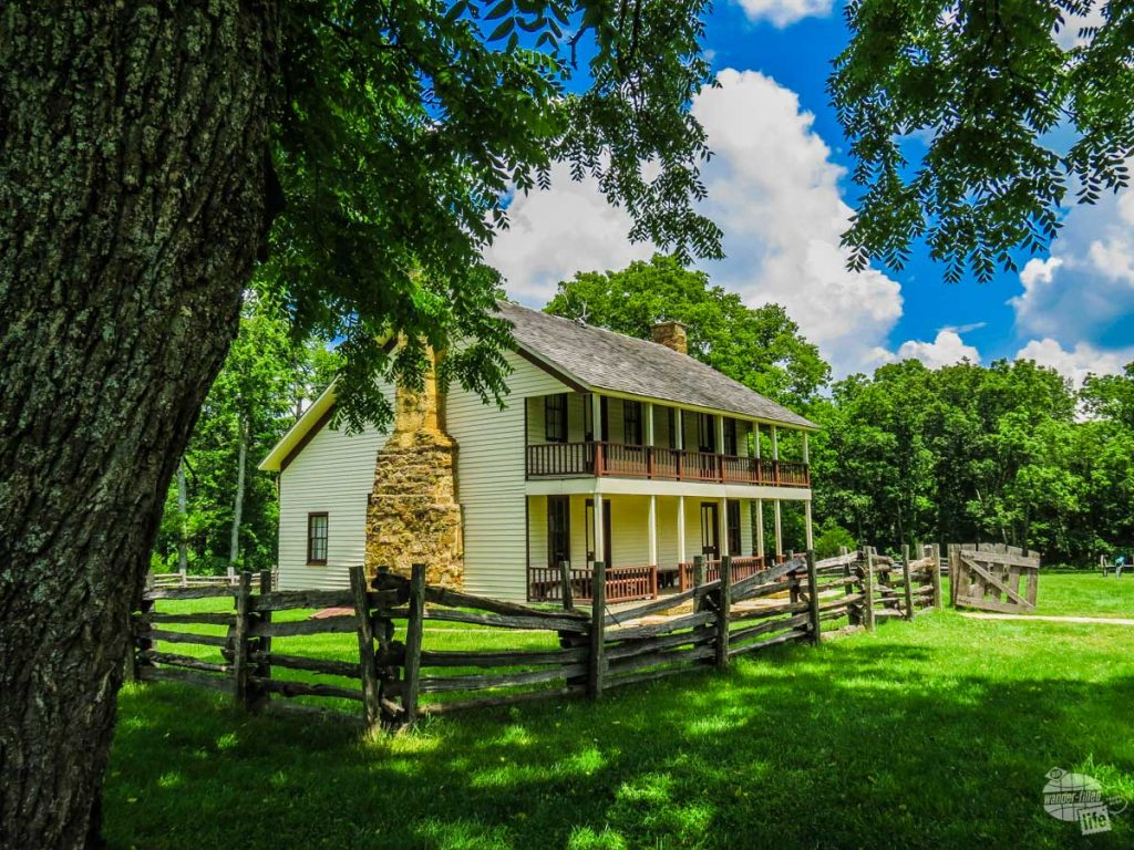 The Elkhorn Tavern at Pea Ridge National Military Park