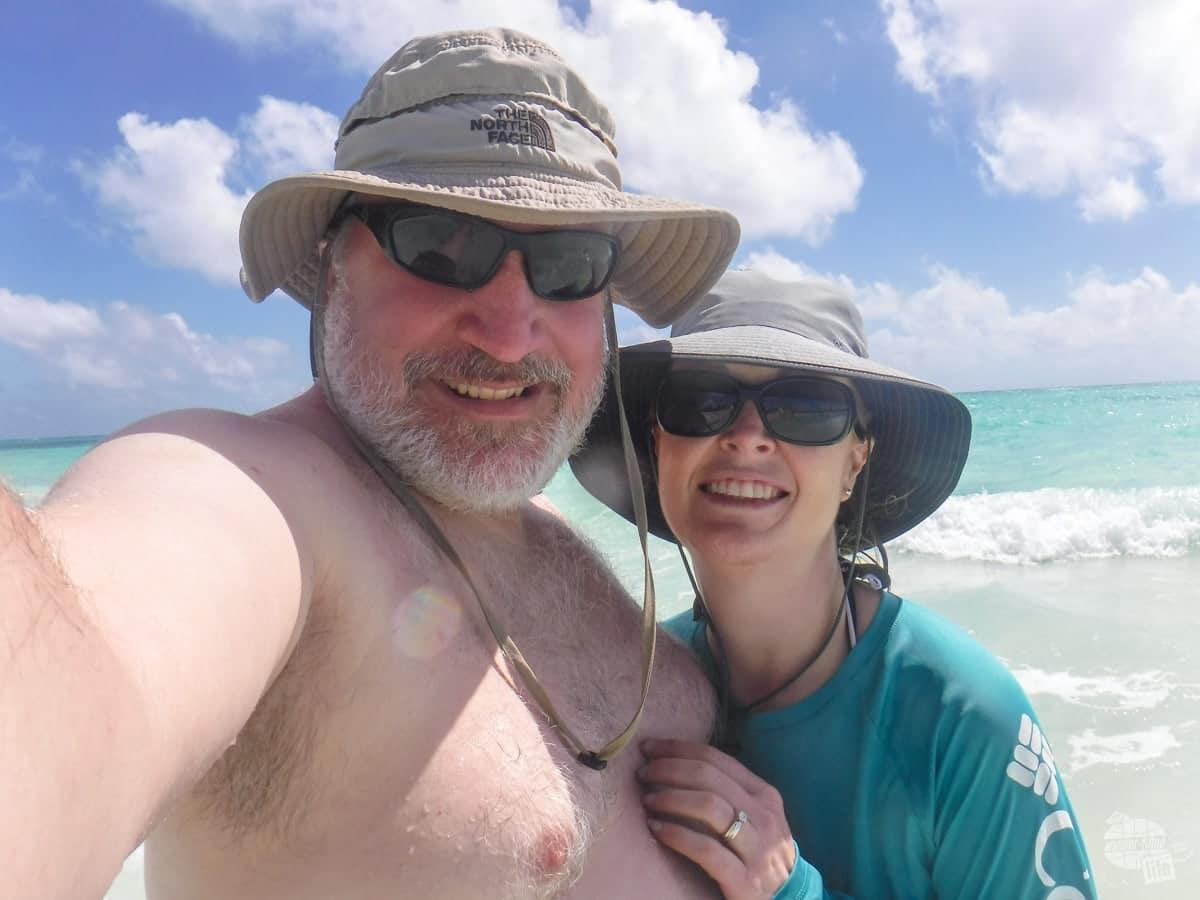 Gold Rock Beach in the Bahamas