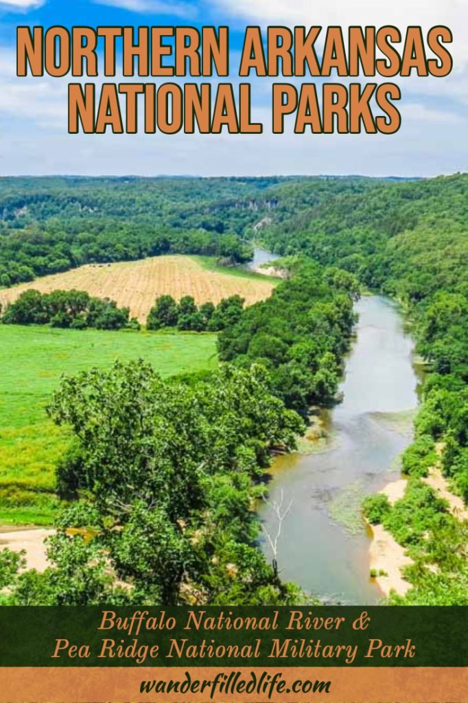 Between the Buffalo National River and Pea Ridge National Military Park, these northern Arkansas national parks make for a great detour off I-40.