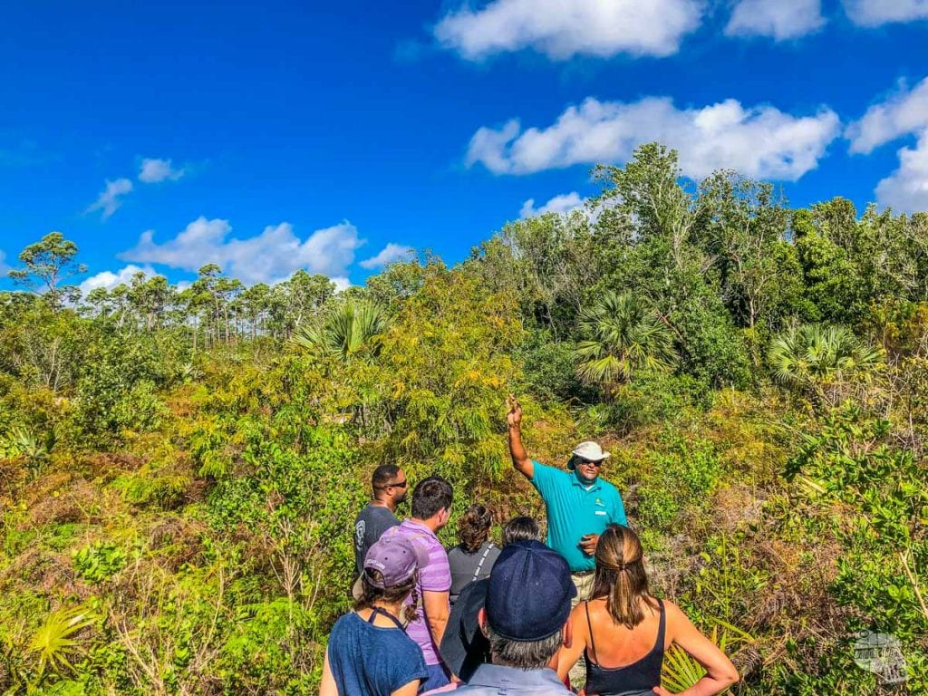 Tour at Lucayan National Park