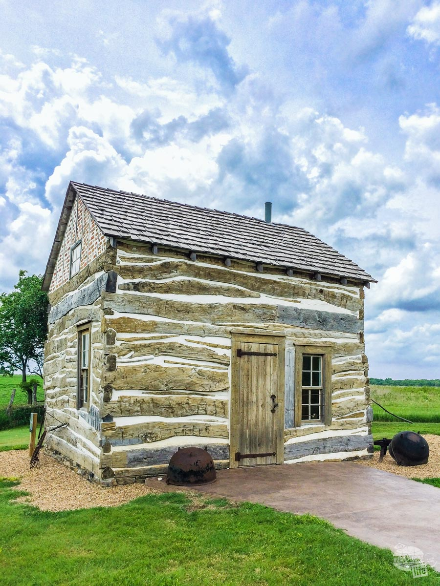 An 1867 homesteader's cabin