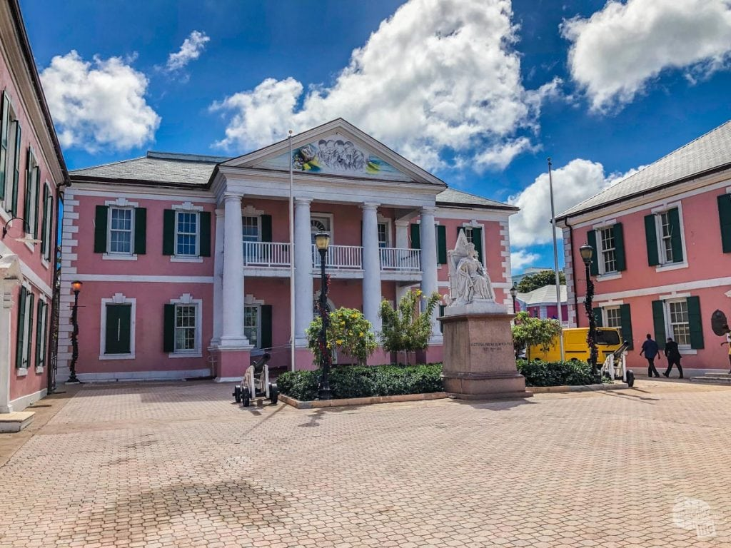 Parliament Square in Nassau