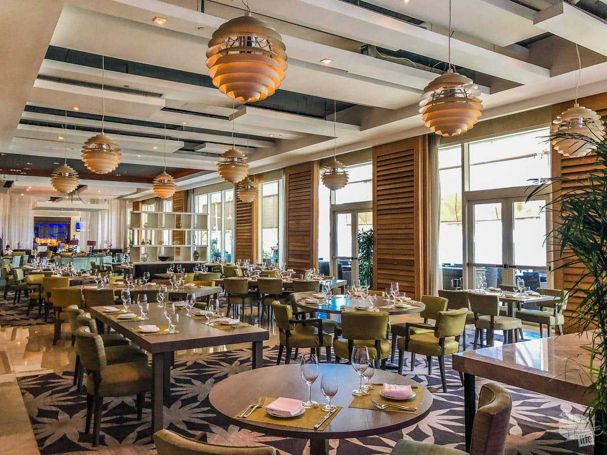 The SeaGrille restaurant at the Boca Beach Club
