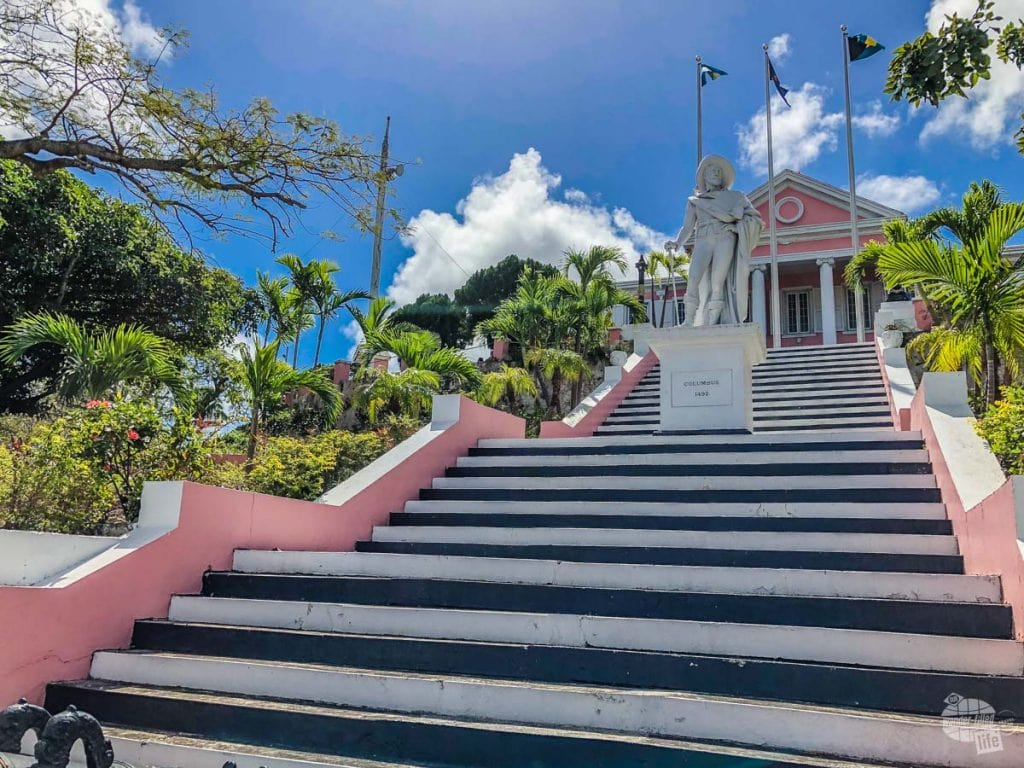 The Government House in Nassau