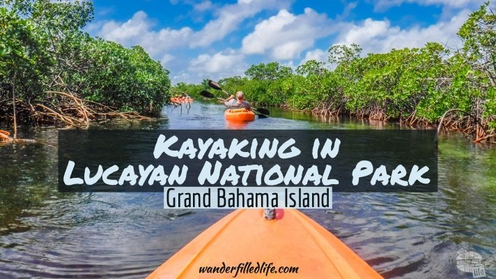 Kayaking in Lucayan National Park