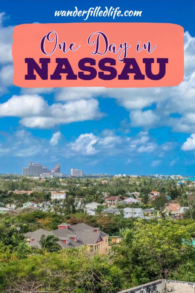 No visit to the Bahamas is complete without a stop in Nassau. With one day in Nassau you can easily walk the city to see its forts and rum distillery.
