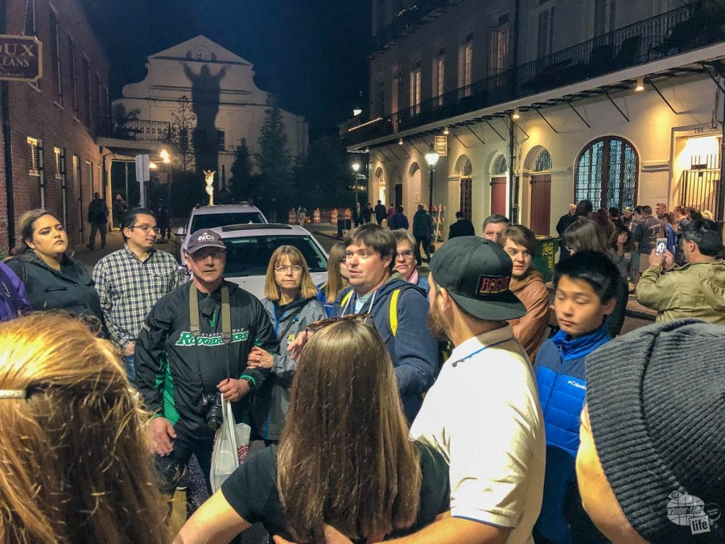 A Ghost Tour is a must for any New Orleans itinerary.