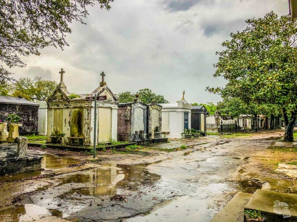 Lafayette Cemetery No. 1 in New Orleans. A stop at a cemetery is a must for any New Orleans itinerary.