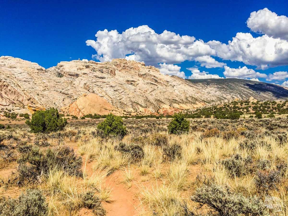 Split Mountain in Dinosaur National Monument