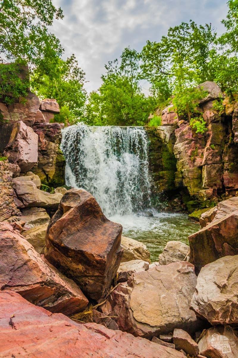 Winnewissa Falls at Pipestone National Monument