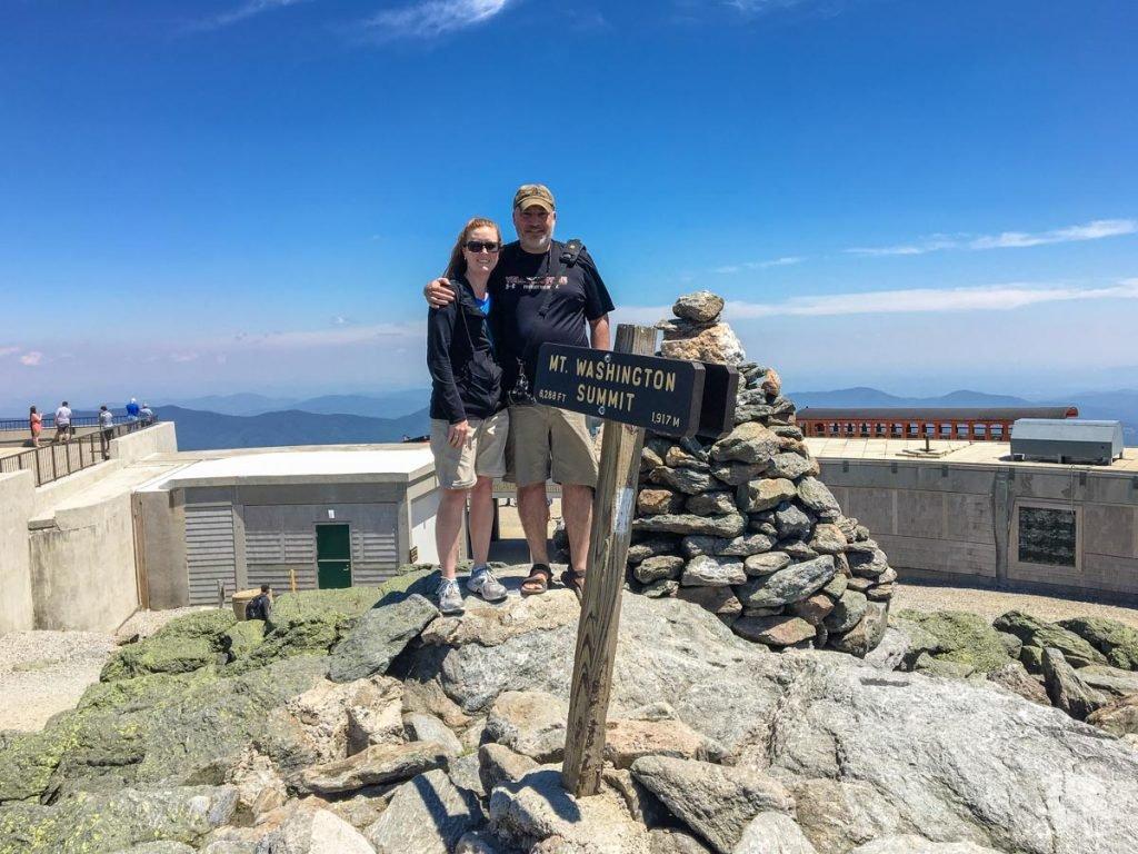 Atop Mt. Washington