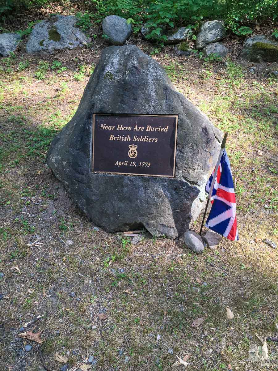 I particularly like the fact that both sides' losses are memorialized at Minuteman NHP and many other NPS sites.