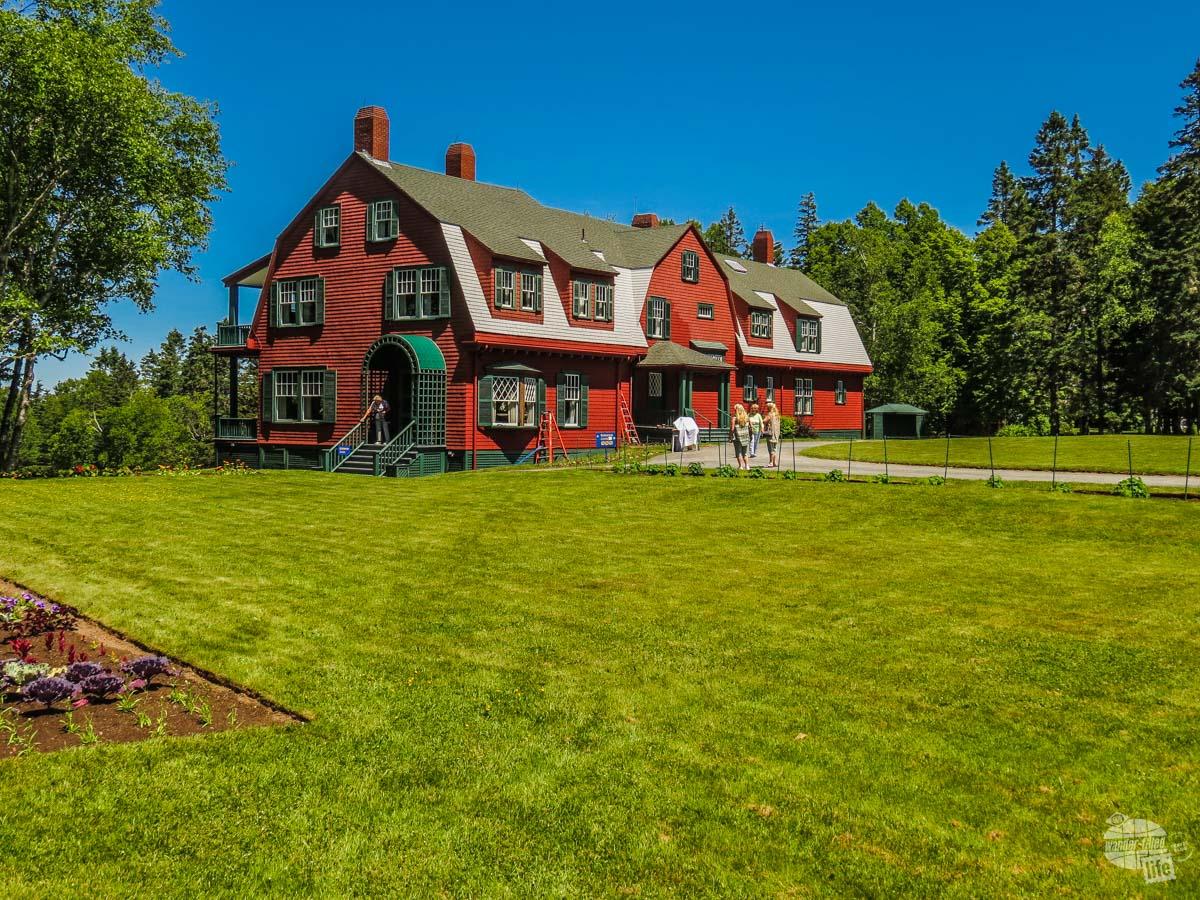 Campobello was the summer home of Franklin Delano Roosevelt.