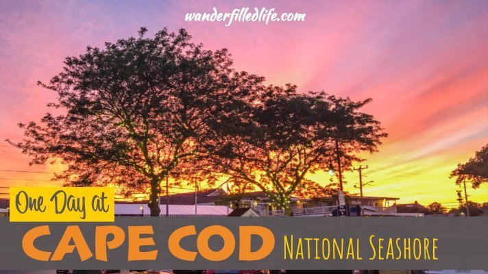 One Day at Cape Cod National Seashore