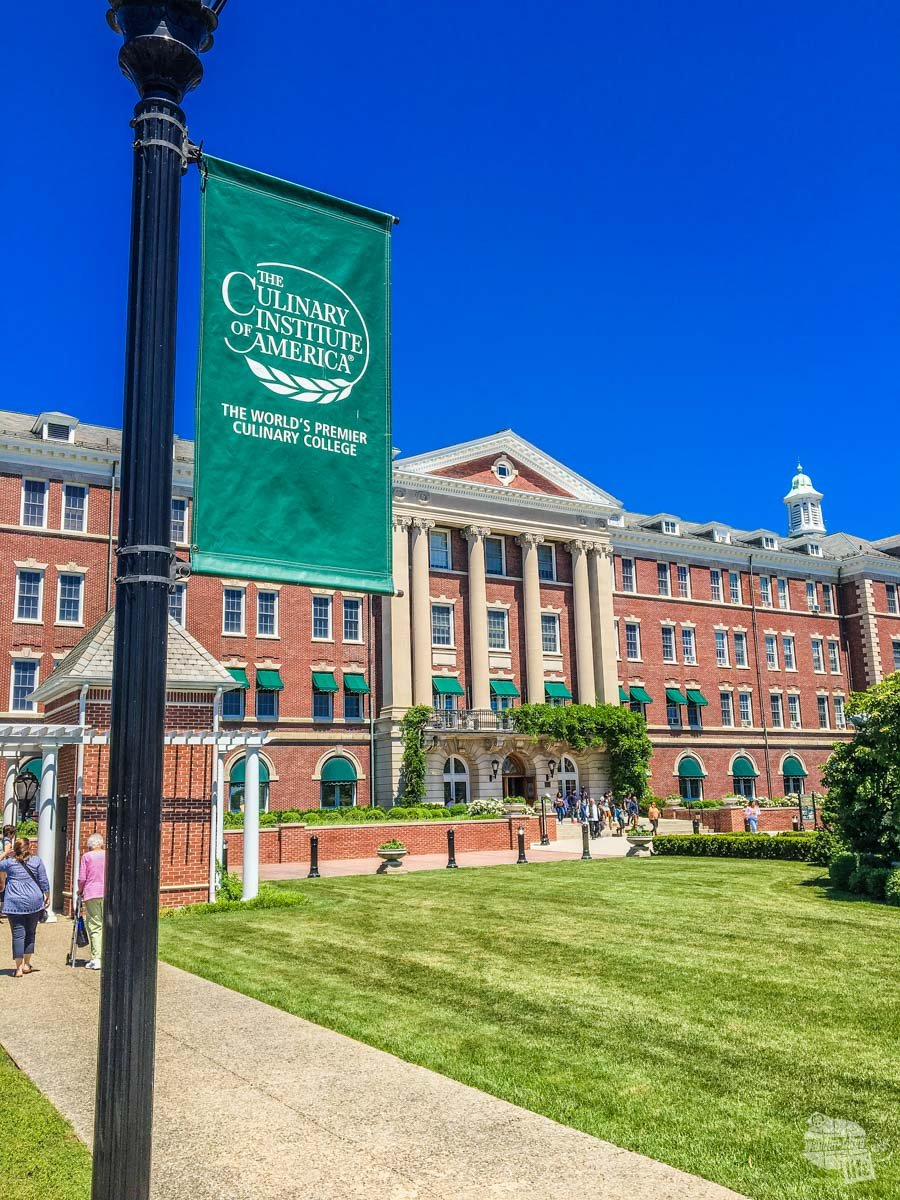 The Culinary Institute of America is one of the top culinary schools in the country.