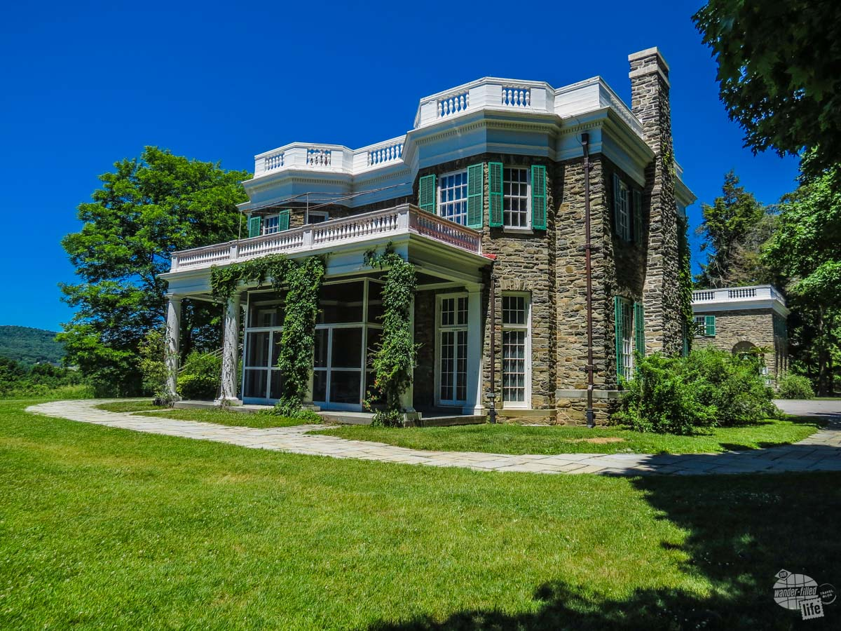 FDR's home