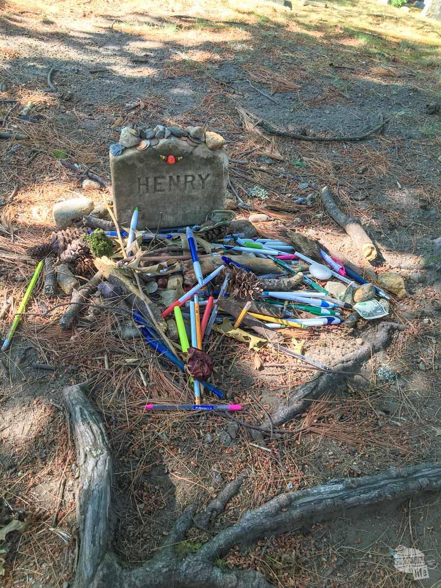 Henry David Thoreau's grave
