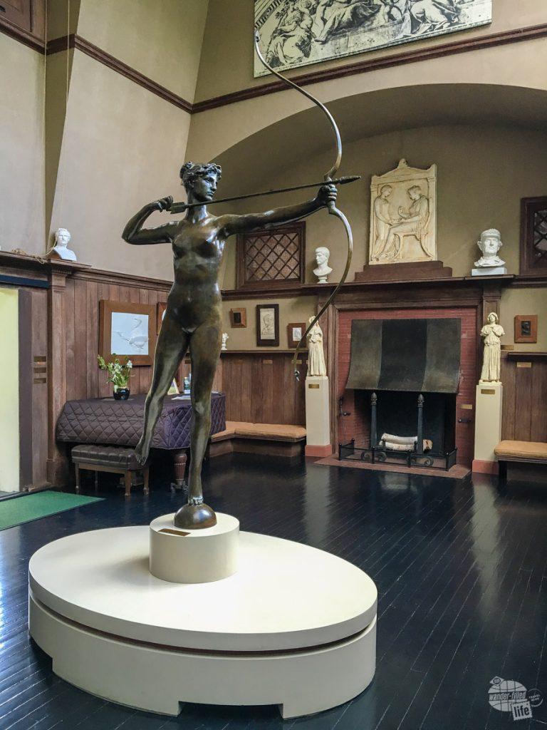 Inside Augustus Saint-Guadens' studio