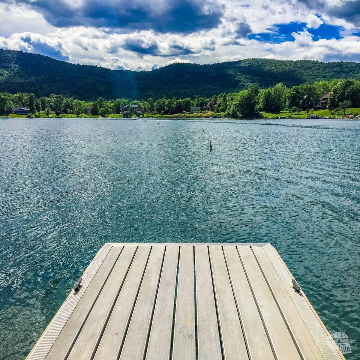 Lake George in the Adirondacks