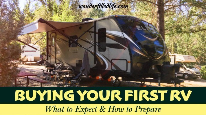 Buying an RV for the First Time