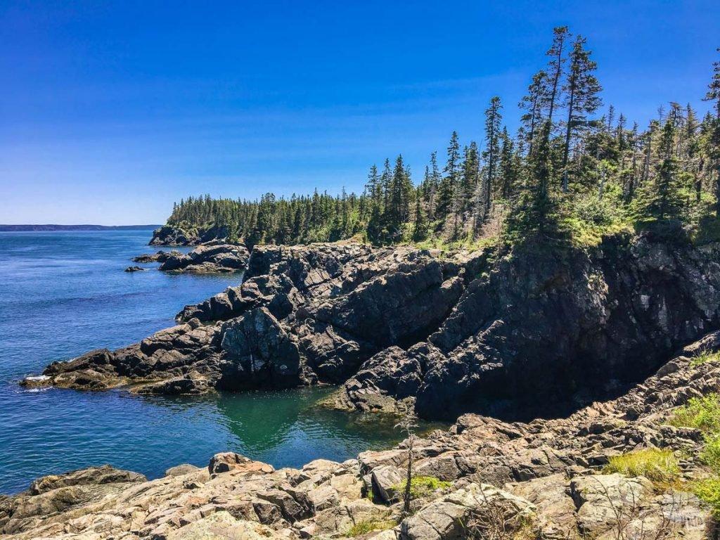 Rugged Canadian coast
