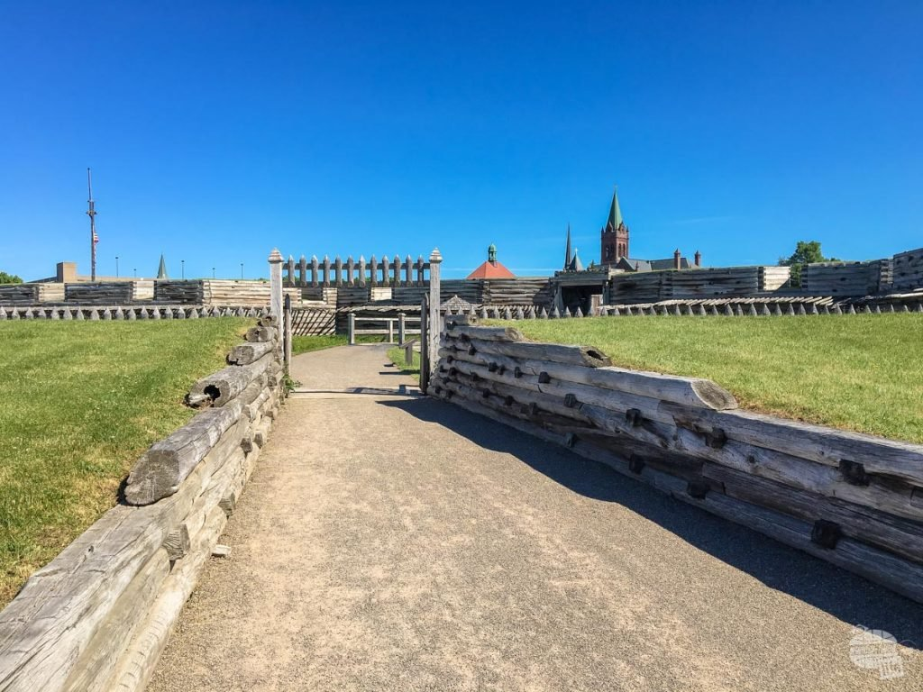 The entrance to Fort Stanwix