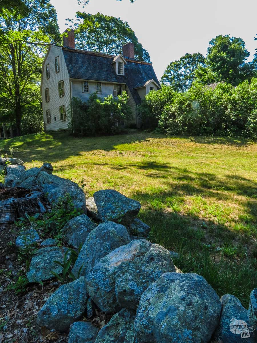 The Old Manse was home to Ralph Waldo Emerson's grandfather, Emerson himself and Nathaniel Hawthorne. Henry David Throeau planted the original garden here as a wedding present for Hawthorne.