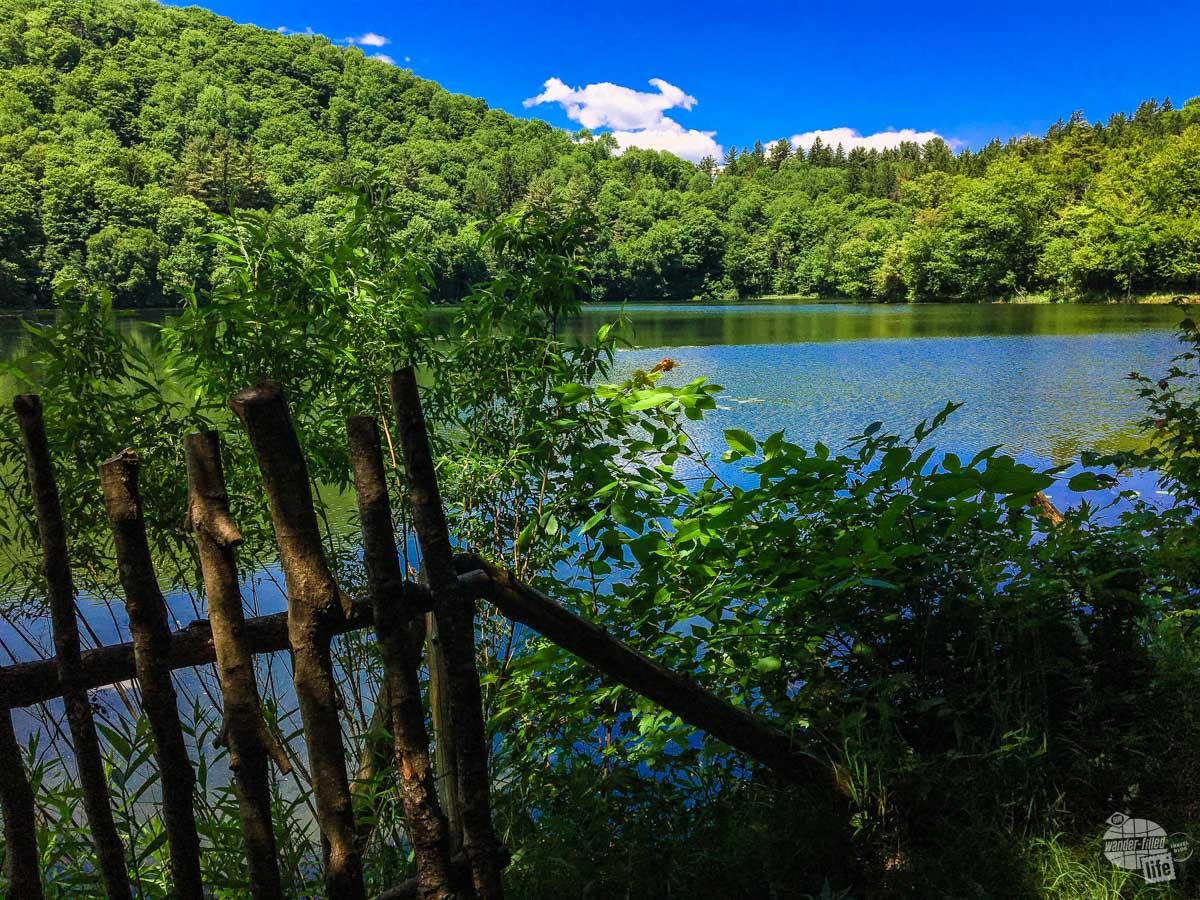 The Pogue, the pond at Marsh-Billings-Rockefeller NHP