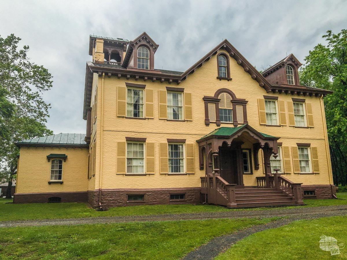 Martin Van Buren's home in Kinderhook