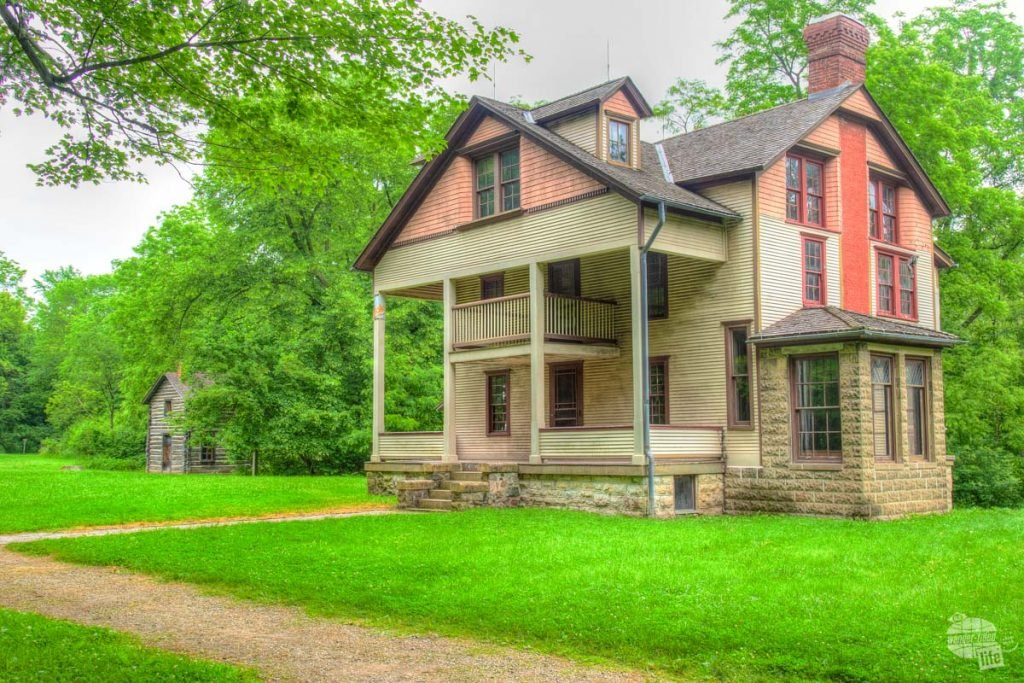 The Bailley Homestead at Indiana Dunes National Park.