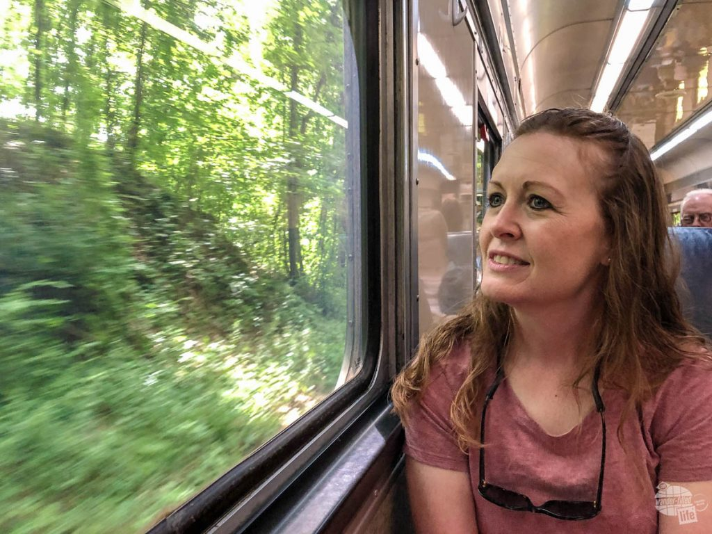 Riding the scenic train is a top thing to do at Cuyahoga Valley National Park